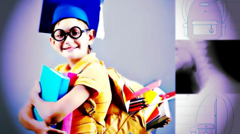 Prawie połowa dzieci nosi za ciężkie plecaki. Jak odciążyć ich kręgosłup?