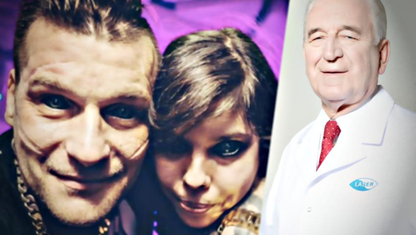 Prof. Szaflik uratuje wzrok fanki Popka, która wytatuowała sobie oczy?