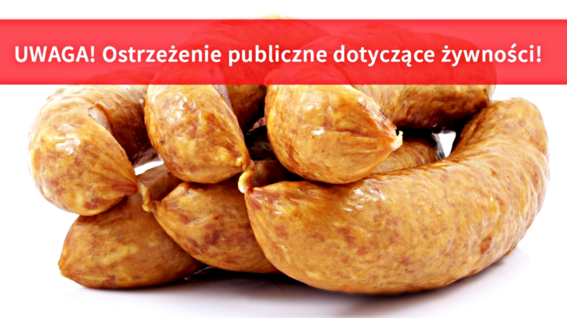 Bakterie Listeria w kiełbasie śląskiej produkowanej z szynki: GIS ostrzega przed listeriozą