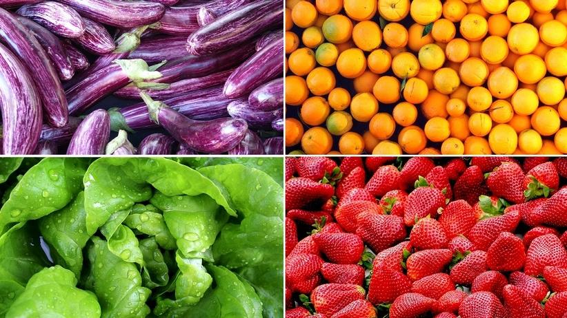 Czerwone, zielone czy żółte? Co oznacza kolor warzyw i owoców?