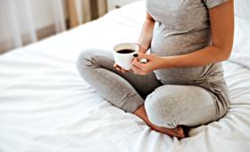 Kawa w ciąży, nadwaga dziecka, dieta ciężarnej, kofeina