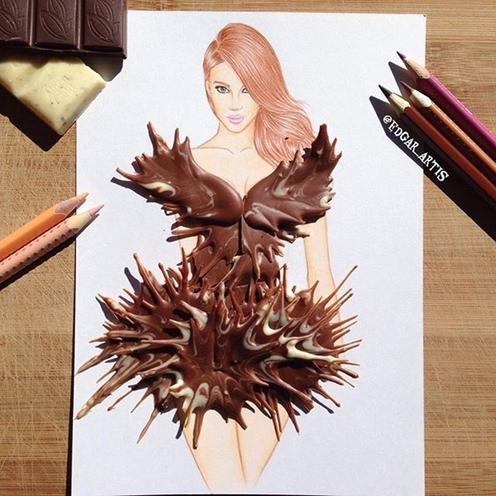 10. Kawałek gorzkiej czekolady
