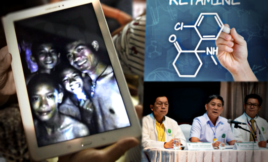 Ketamina, lek, znieczulenie, narkotyk, Tham Luang, Tajlandia, akcja ratunkowa w jaskini