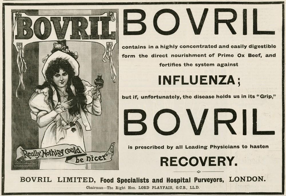 Lek na grypę z końca XIX wieku