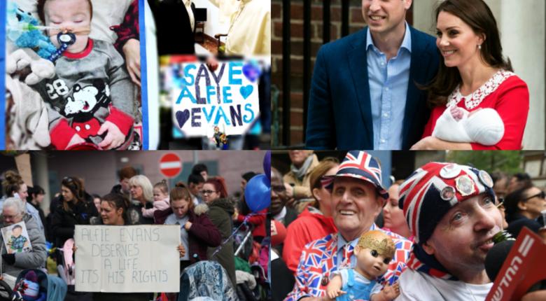 Alfie Evans kontra Royal Baby, przymusowa eutanazja dziecka, prawo do życia, prawo do godnej śmierci