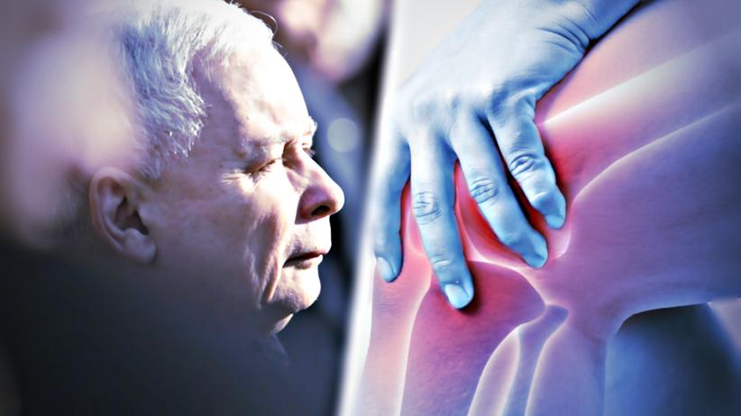 Kaczyński/kolano prezesa/uraz kolana/leczenie