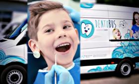 Dentobusy, dentysta, dzieci, darmowa pomoc stomatologiczna dla uczniów