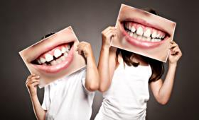 Dentobusy, zęby, dzieci, higiena jamy ustnej, opieka stomatologiczna