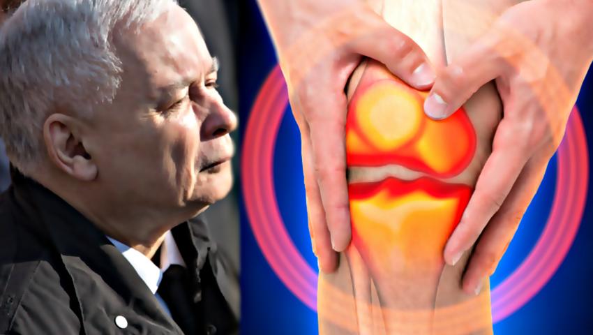Jarosław Kaczyński, operacja kolana, zabieg, kolano prezesa