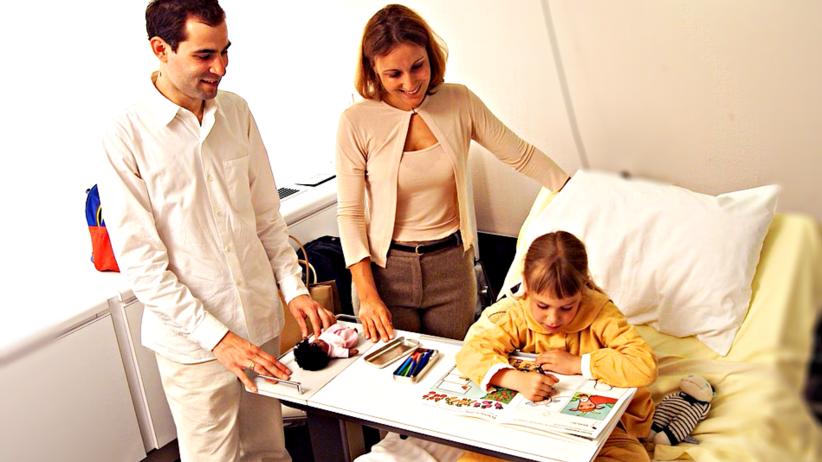 Szpitale nie będą mogły pobierać opłat od rodziców czuwających przy dzieciach