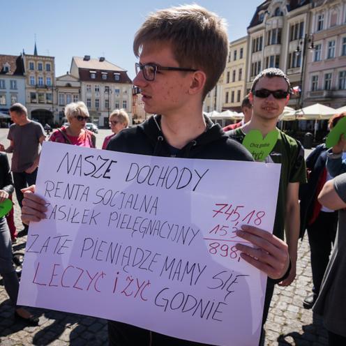 Niepełnosprawni, Bydgoszcz, list otwarty do prezesa Kaczyńskiego