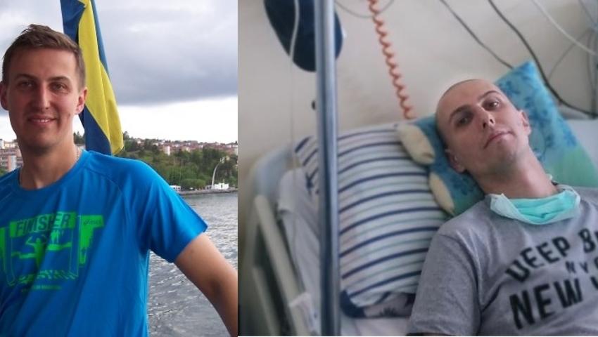 Dominik Węgrzynowski przed chorobą i po chorobą