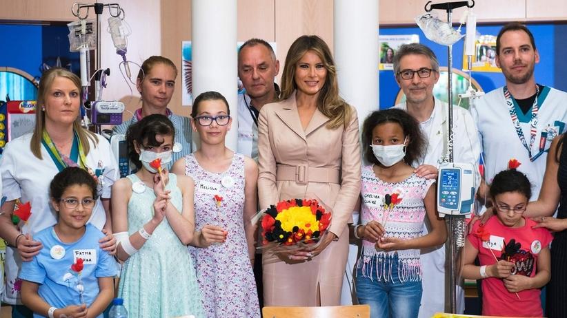 Czy Melania Trump odwiedzi jeden z warszawskich szpitali?