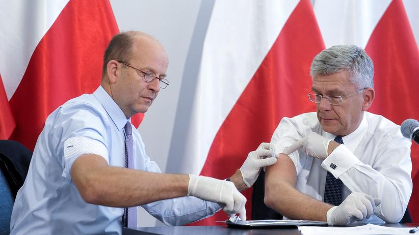 Politycy udowadniają, że sami stosują szczepionki przeciwko grypie