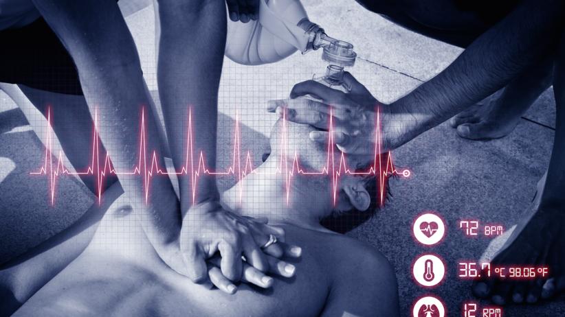 ostry dyżur, szpital, pacjent, EKG, pierwsza pomoc, służba zdrowia, pogotowie