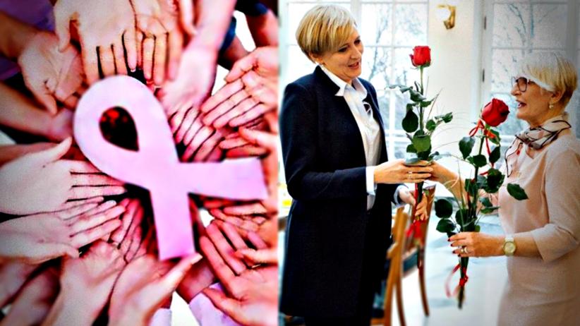 Pierwsza dama została Ambasadorką Walki z Rakiem Piersi w Polsce