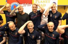 O dzieciach chorych na raka nie zapomnieli też piłkarze Pogoni Szczecin