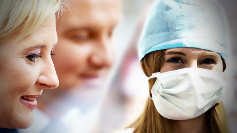 Protest rezydentów: Młodzi lekarze proszą o pomoc parę prezydencką