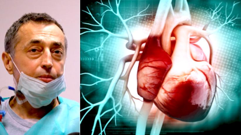 Przeszczep serca i wątroby, pionierska operacja, Marek Wlaź, Instytut Kardiochirurgii w Warszawie