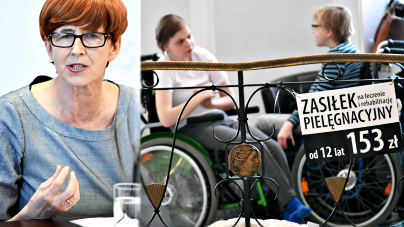 Protest niepełnosprawnych w Sejmie, Elżbieta Rafalska, od kiedy strategia pomocy dla niepełnosprawnych