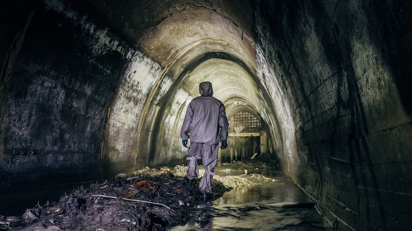 Kanał kanalizacyjny - ścieki
