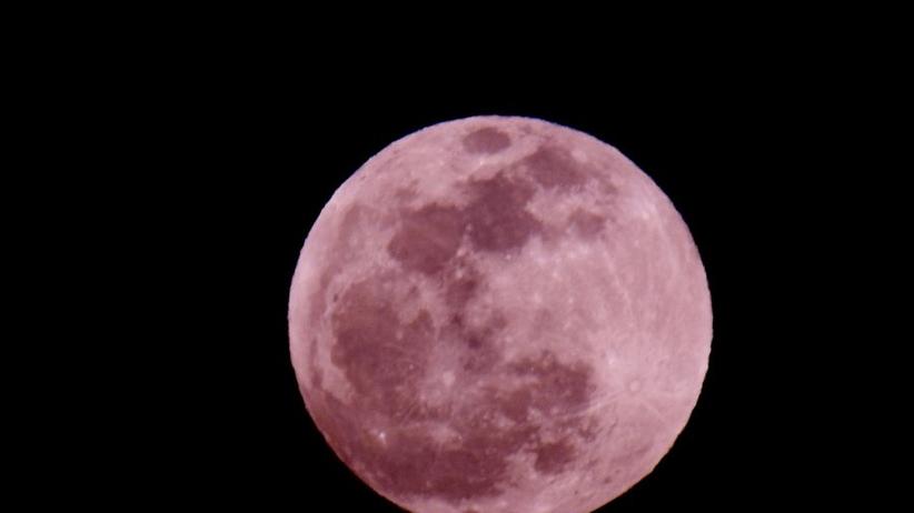 Dziś Pełnia Różowego Księżyca. Spójrzcie w niebo!