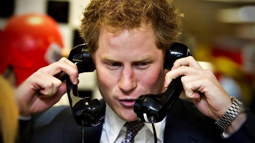 Książę Harry apeluje, by nie nadużywać smartfonów. Dla zdrowia psychicznego