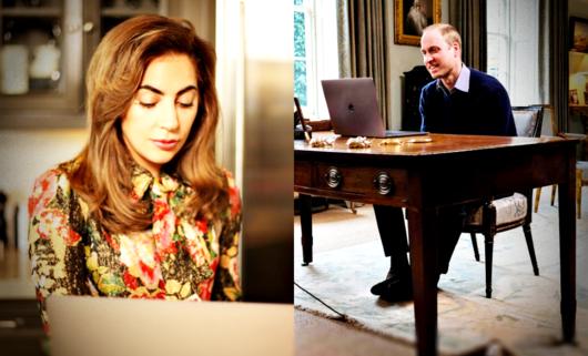 Lady Gaga opowiedziała księciu Williamowi o swoich problemach psychicznych