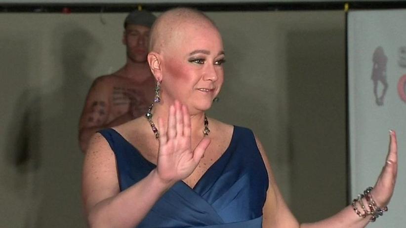 Kobiety chore na raka podbijają nowojorski Tydzień Mody