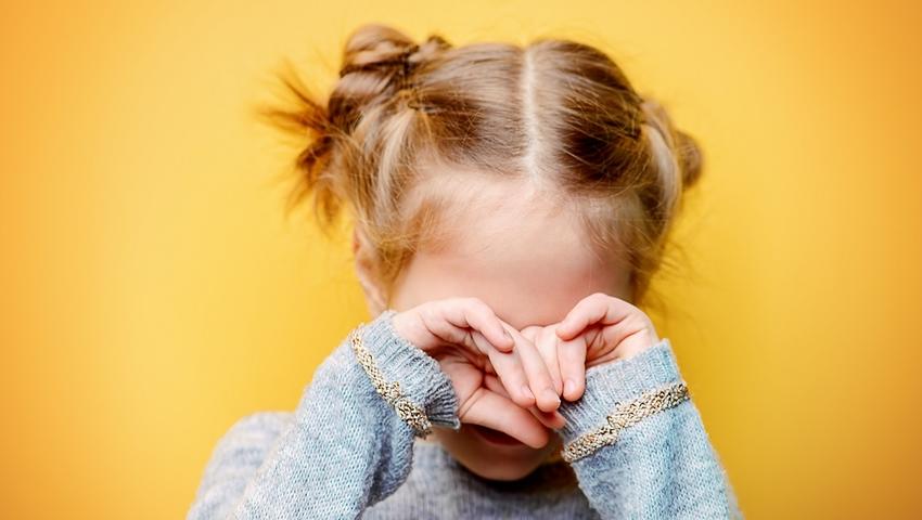 Płaczące dziecko - pierwsze dni w przedszkolu
