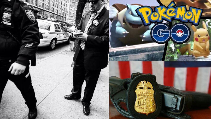 Dzięki FBI zamiast łapać Pokemony możesz ścigać przestępców