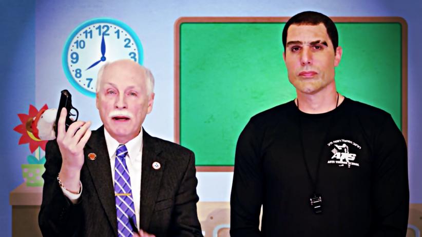 Sasha Baron Cohen, Who is America?, prawo do broni dla przedszkolaków, absurdy polityki, społeczeństwo w USA