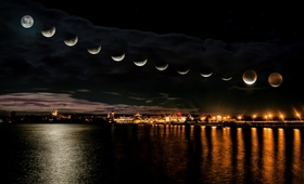 Dziś pełnia i zaćmienie księżyca! Spójrz w niebo i... poskrom emocje!