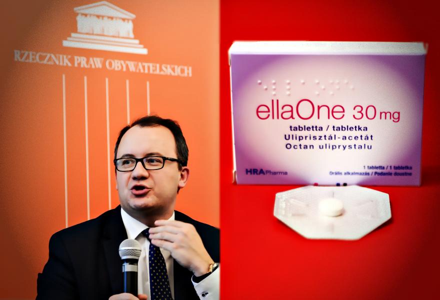 Adam Bodnar o pigułkach ellaOne: rząd szkodzi kobietom