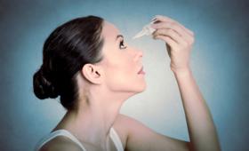 Krople do oczu zastąpią soczewki kontaktowe, kobieta, oczy