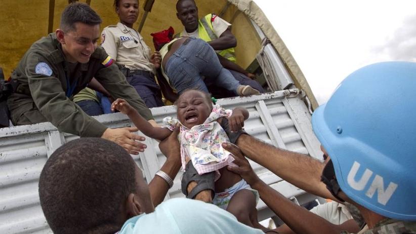 ONZ przyznaje się do spowodowania epidemii cholery na Haiti