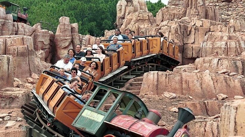 Jak się pozbyć kamieni nerkowych? Wystarczy przejazd kolejką górską w Disneylandzie!