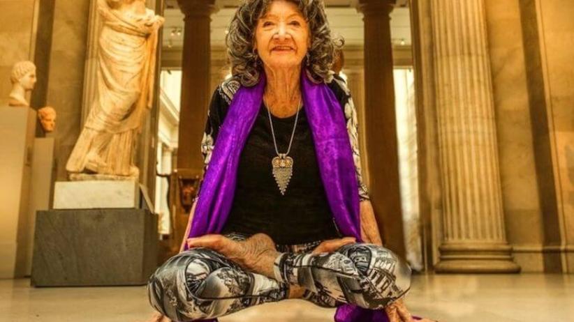Pani Tao  – najstarsza nauczycielka jogi na świecie