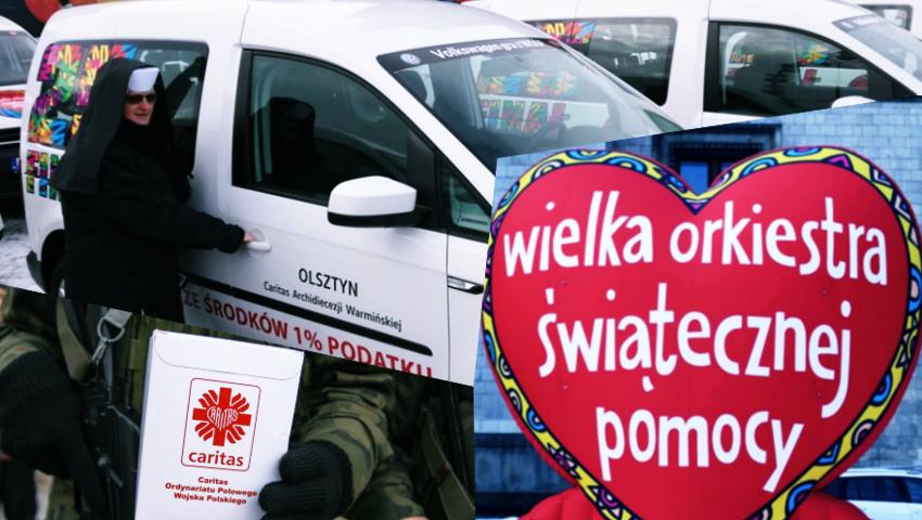 WOŚP wspiera Caritas i oddaje samochód dla hospicjum