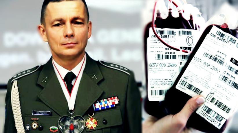 Polski żołnierz oddał najwięcej krwi w Europie. Uratował życie 70 osób