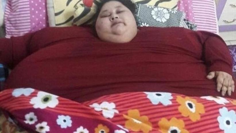 Najcięższa kobieta świata przejdzie operację bariatryczną w Indiach