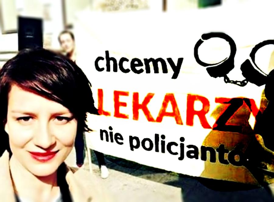 """Strajk Kobiet: """"Chcemy lekarzy a nie policjantów!"""""""