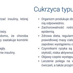 Jaka jest różnica między cukrzycą typu 1 i 2?