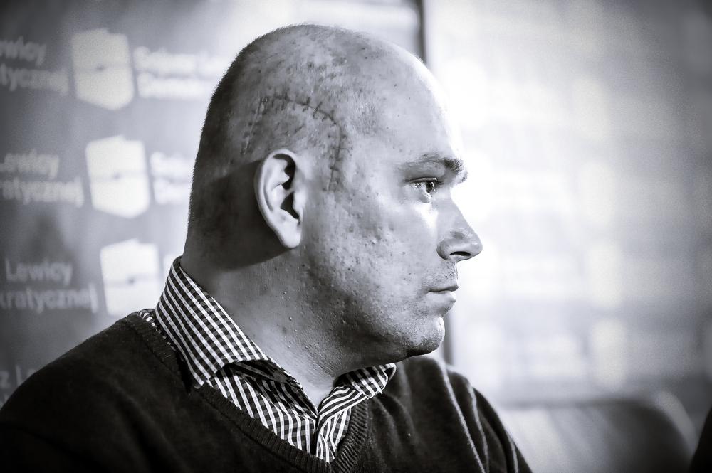 Tomasz Kalita walczył o legalizację marihuany. Pokonał go glejak