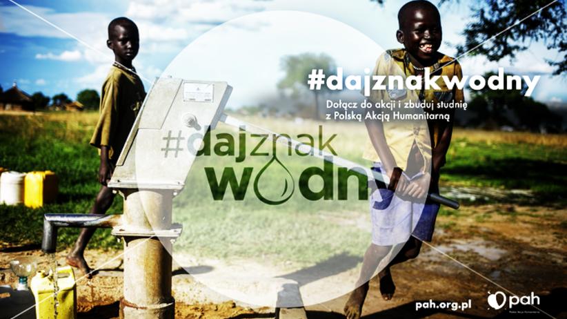 Woda to życie. Pomóż Polskiej Akcji Humanitarnej budować studnie!